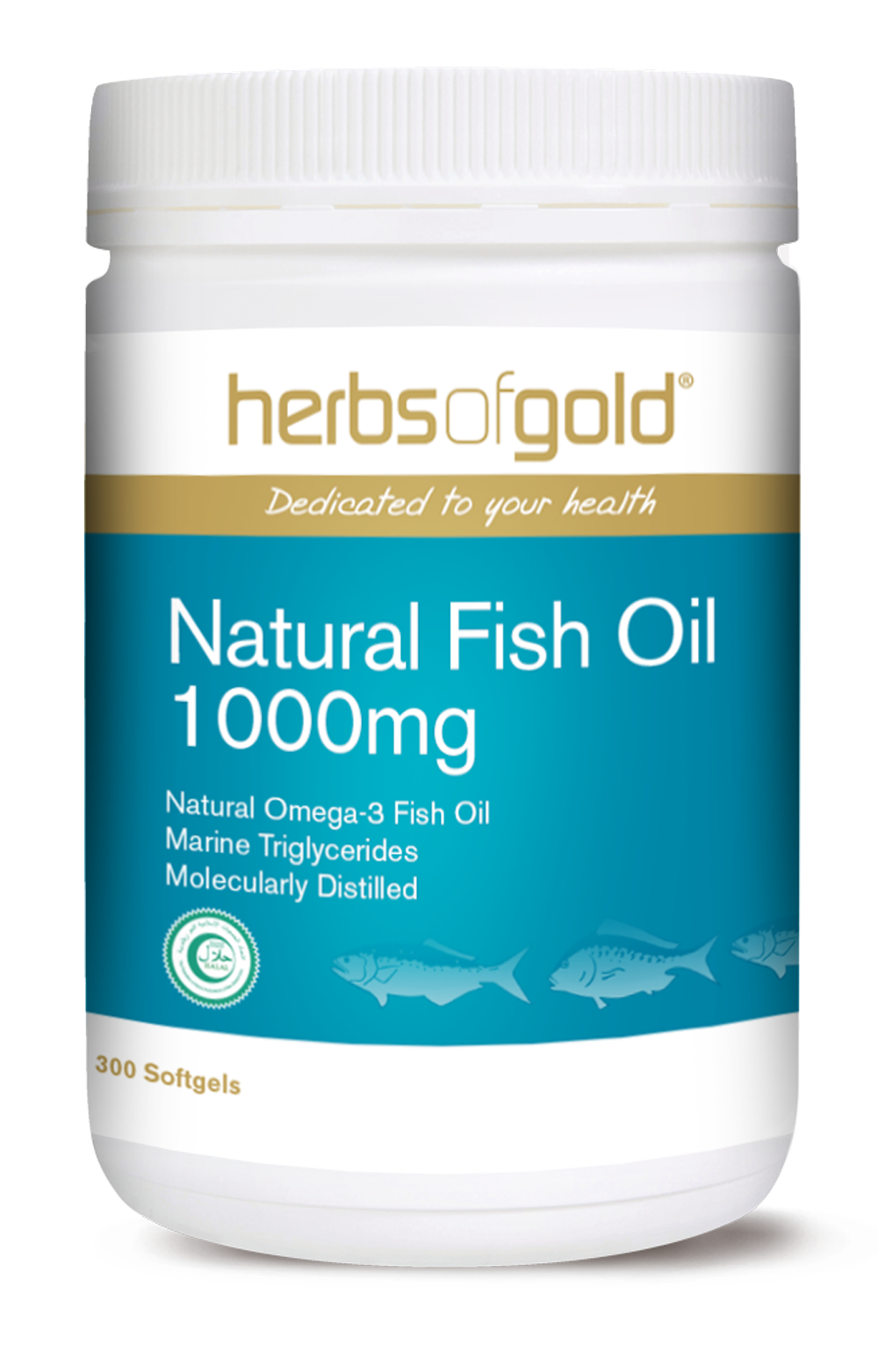 Natural Fish Oil 1000mg
