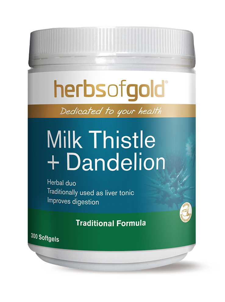 Milk Thistle + Dandelion